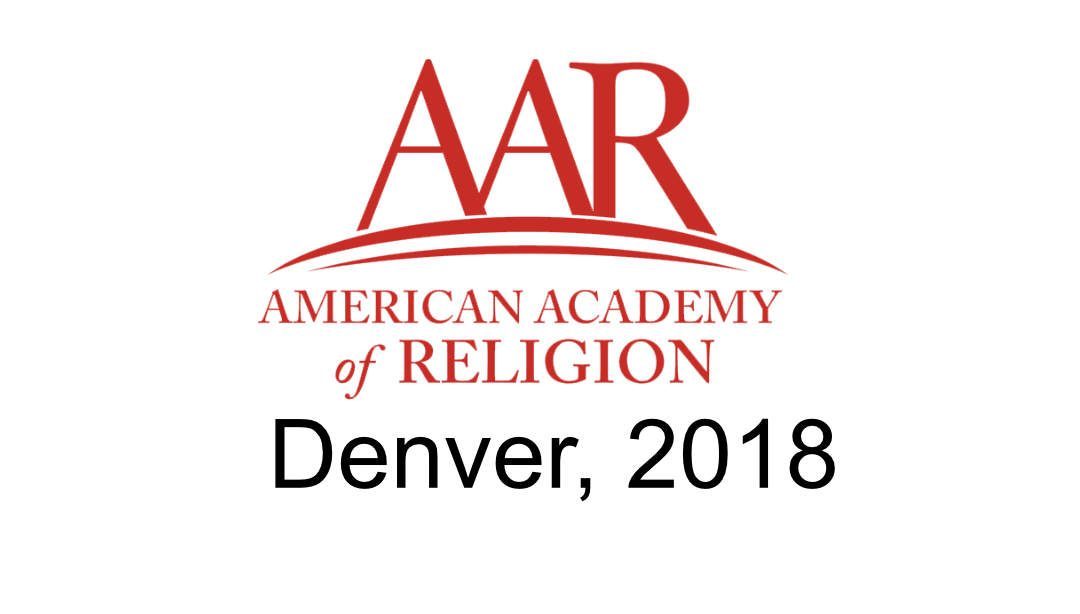 Pure Blood and Old Christians: A presentation at the AAR