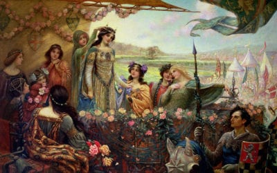 Guinevere and Arthur: The Feminine and Masculine in Tennyson's Idylls
